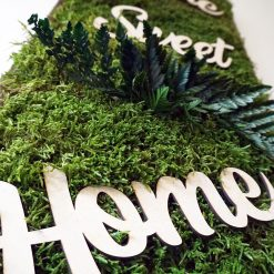 Natural House Blessing and HouseWarming Moss Art Decoration by HandCraft Studio